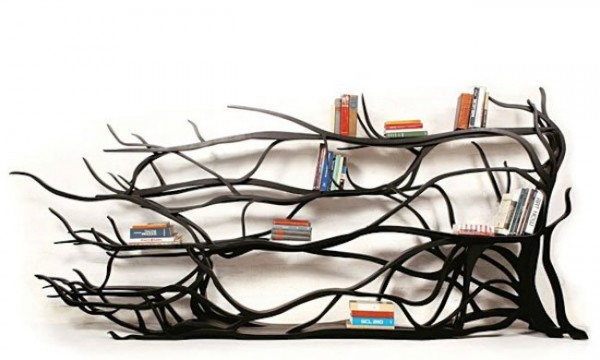 bookshelves-black-tree-branches-600x360
